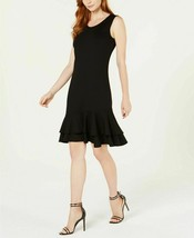 NY Collection Women's Petite Sleeveless Ruffle-Hem Shift Dress - Petite ... - $15.66