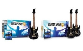 Guitar Hero Live Wii-U Video Game Bundle 1 or 2 Wireless Controllers - NEW! - $11.29+