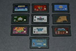 Nintendo Game Boy Advance: 10 Game Lot - $23.00