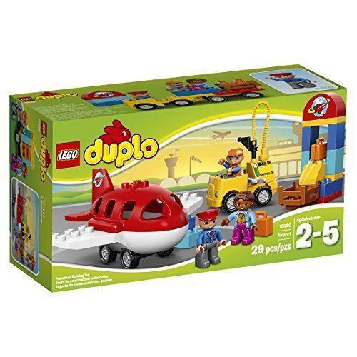 LEGO Duplo 10590 Airport Educational Preschool Toy Building Blocks Set