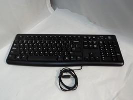 Logitech Ergonomic Desktop USB Wired English Keyboard, Black - K120 - 82... - €13,01 EUR