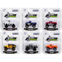 Just Trucks Set of 6 Trucks Series 23 1/64 Diecast Model Cars by Jada 14... - $51.45