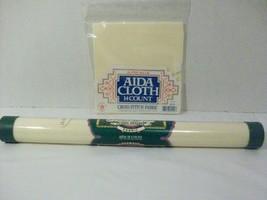 Lot of 2 pkg Aida Cross Stitch Fabric 14 & 18 Count Charles Craft & Super Value - $9.90