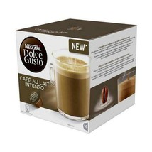 Coffee Capsules Nescafé Dolce Gusto 45831 Café Au Lait Intenso (16 uds) - $34.16