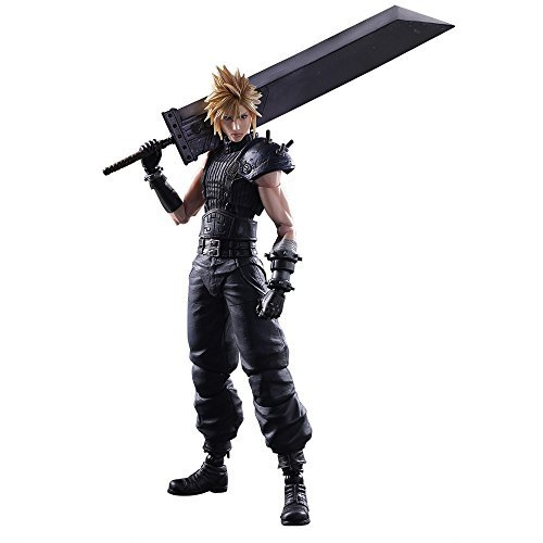 Square Enix Final Fantasy VII Remake Cloud Strife Play Arts Kai Action Figure - $142.38