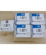 HP940XL HP940 Ink Cartridge Lot of 5 Black Cyan Magenta Genuine Sealed - $17.99