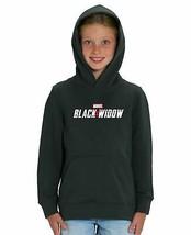 Marvel Studios Black Widow Officiall Movie Logo Children's Unisex Black ... - $31.69
