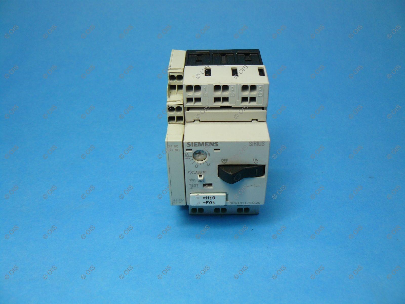 Siemens 3RV10111BA20 IEC Manual Motor and similar items