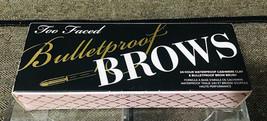 Too Faced Bulletproof Brows, Universal Brunette, Waterproof Cashmere Cla... - $34.65
