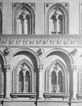 ITALY Milan Facade of Hospital Ospedale Maggiore - 1888 Original Print - $30.60