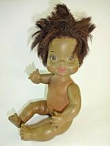 """Vintage 1970 Horsman Black African American 10"""" Bye-Lo Drink/Wet Baby Doll  3036 - $16.04"""