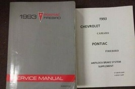 1993 Pontiac Firebird Servizio Negozio Riparazione Manuale Set Concessio... - $24.70