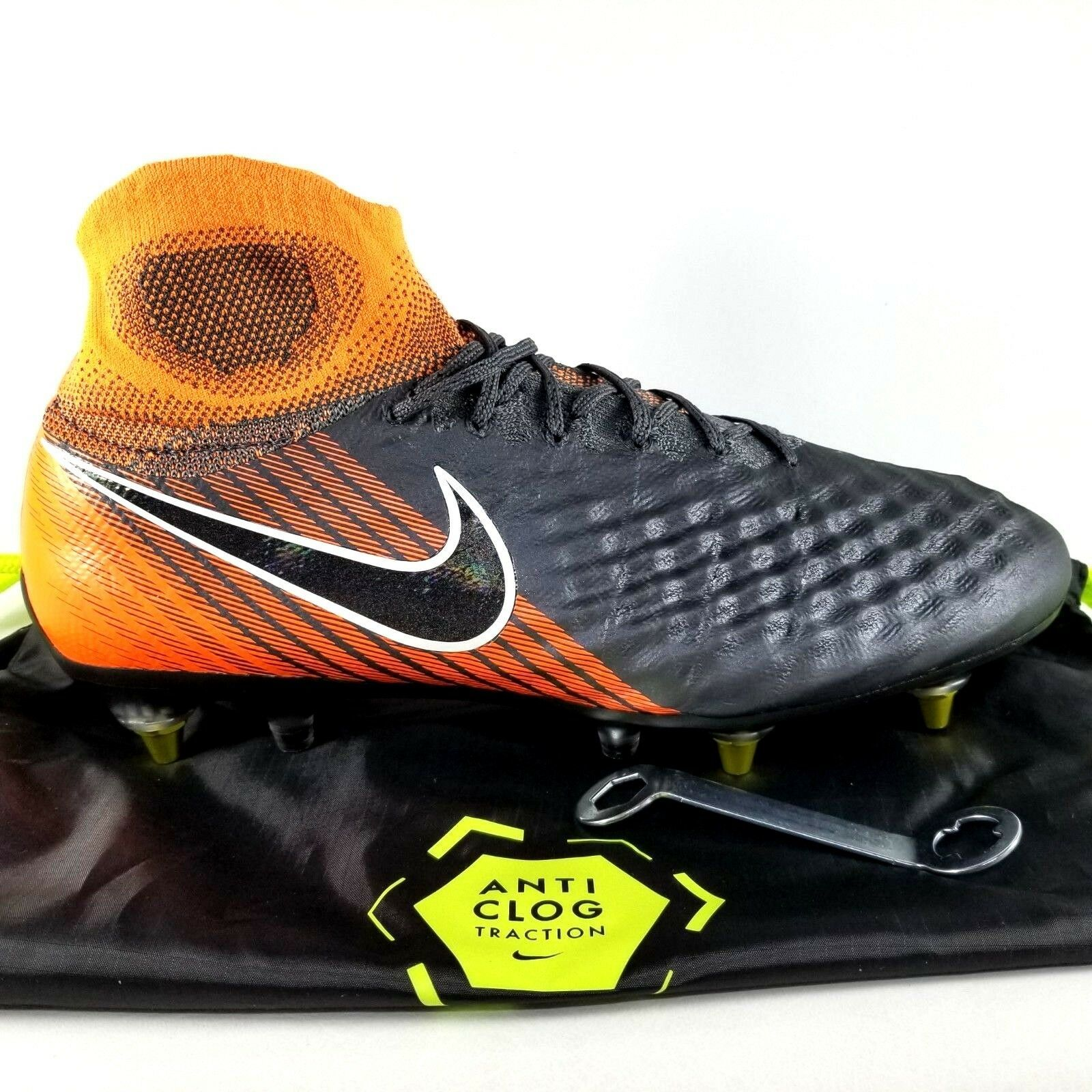 fc0e2852cec0 57. 57. Previous. Nike Magista Obra 2 Elite DF SG Pro Soccer Cleats SZ 10.5 Mens  Boot Orange Black