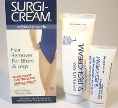 Ardell Surgi Cream Hair Remover Soothing Finishing Balm Bikini Legs 3 Boxes - $13.27