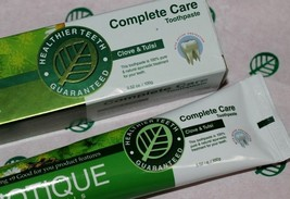 Biotique Complete Care Toothpaste Clove & Tulsi 140 gm,Removes Stains Freshning - $10.00
