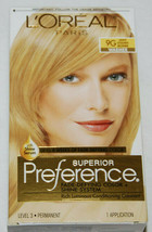 LOreal Superior Preference Hair Dye Color Light Golden Blonde 9G - $10.99