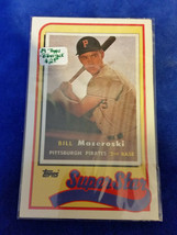 1989 LJN Topps Baseball Talk - #19 - Bill Mazeroski - Pittsburgh Pirates - MLB - $1.19