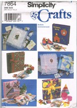Simplicity Crafts 7864 Covers for Photo Albums and Scrapbooks Sewing Pat... - $9.95