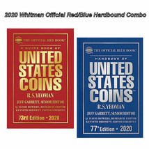 2020 Red Book, Price Guide and 2020 Blue Book, Handbook of U.S. Coins, H... - $27.91