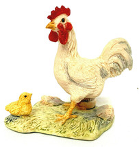 Vintage Lowell Davis Schmid Thinking Big Chick and Rooster Foxfire Farm ... - $22.77