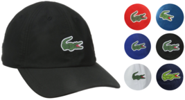 New Lacoste Men's Premium Classic Croc Logo Sport Polyester Adjustable Hat Cap