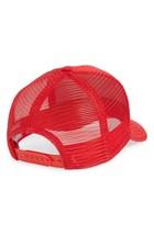 Goorin Bros Snapback Mesh Cap Animal Farm Trucker Hat (Red - Killer Whale) image 2