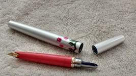 Sailor 18 kt gold nib fountain pen rare pen Vintage - $93.11