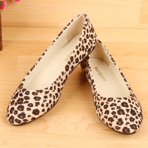 Flats Women Flat Shoes Leopard Sexy Casual Sapatos Loafers Zapatos Mocca... - $4.99