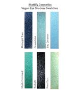 Sparkly Black Eye Shadow Navy Blue Eyeshadow Holographic Shimmery Vegan ... - $5.99