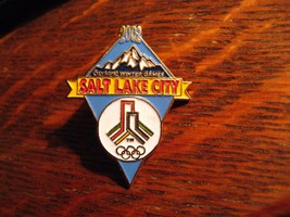 Salt Lake City Olympics Lapel Pin - 2002 Utah Winter Olympic Games Souve... - $19.79
