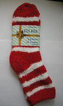 Socks, Ladies Butter Soft Red & White Striped, Size 9-11, By Gold Medal,... - $5.99