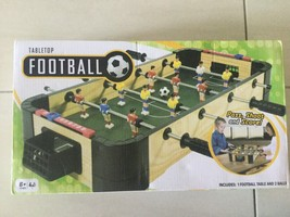 Tabletop Football Pass Shoot & Score Game NEW - $20.54