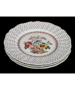 Vintage Royal Doulton China Grantham D 5477 Three Bread & Butter Plates ... - $18.66