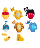 Disney Store Baby Bodysuit Costume Shoes Pooh Simba Donald Mickey Tigger - $24.70+