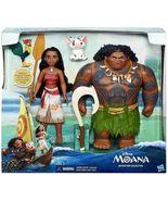 Disney Moana Adventure Collection Doll Set [Moana, Maui, Heihei & Pua]  NEW - $39.99