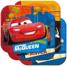 Cars 2 Luncheon Dinner Square Plates 8 Per Package Birthday Party Suppli... - $5.92