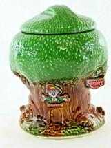 """NICE 1981 Keebler Elf Tree House Featuring Ernie The Elf 10"""" Cookie Jar - $44.55"""