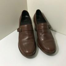 Dansko Romania Women Brown Leather Buckle Slip On  Shoes US 9.5 EUR 40 - $27.72