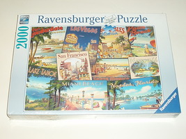 Ravensburger 2000 piece puzzle Brand New American Travel Destinations  - $44.99