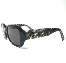 Christian Dior 2X5HD FLANELLE Sunglasses Eyeglasses Frames Black Oversize 140 - $186.99