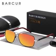 BARCUR Original Men Sunglasses Polarized Sun glasses for Men Sports Eyewear - £21.32 GBP