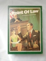 Point of Law - Courtroom Judicial Vintage Game (3M, 1972) ***GREAT SHAPE*** - $7.42