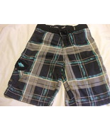 Teenager Boys Board Shorts Swimming Trunks Size 12 Adjustable Waist 100%... - $16.99