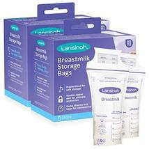 Lansinoh Breastmilk Storage Bags, 200 Count (2 Packs of 100 Bags) - $35.53