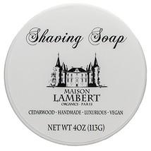Maison Lambert Shaving Soap - Shaving Soap - Shave Soap - Organic Shaving Soap -