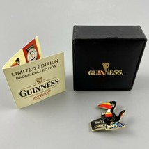 Official Guinness Limited Edition Miner Toucan Badge 503/1500 COA - $98.99