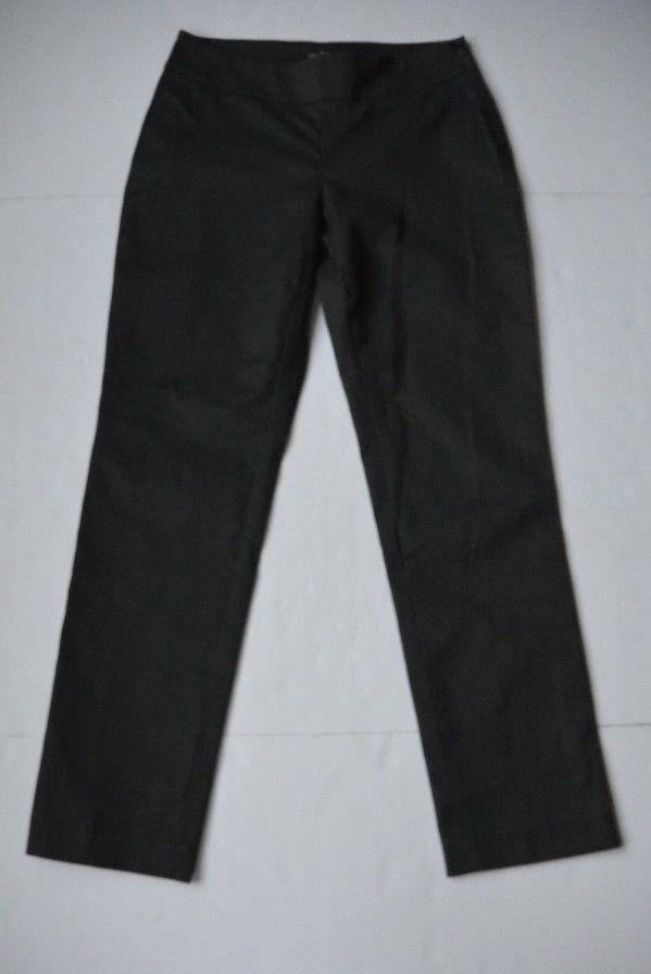 64cd7737b4f Nic+Zoe Pants 2 XS Flat Front Textured Slim and 50 similar items