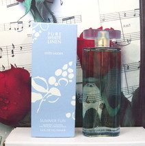 Estee Lauder Pure White Linen Summer Fun Eau Fraiche Spray 3.4 FL. OZ. NWB - $149.99