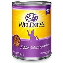 Wellness Complete Health Turkey & Salmon Formula Grain-Free Canned Cat Food - $59.99+