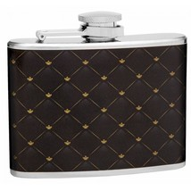 4 oz Classic Elegant Pattern Hip Flask - $9.96
